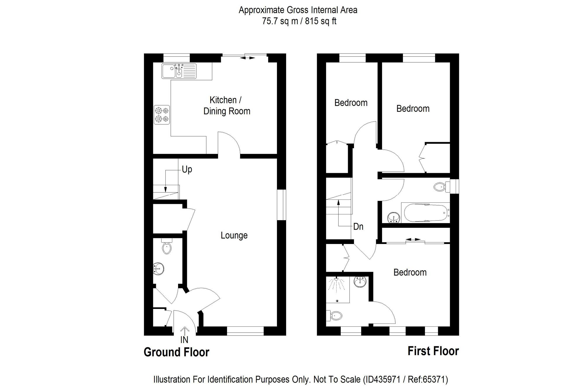 3 Bed End Terrace House For Sale In Wards View Kesgrave
