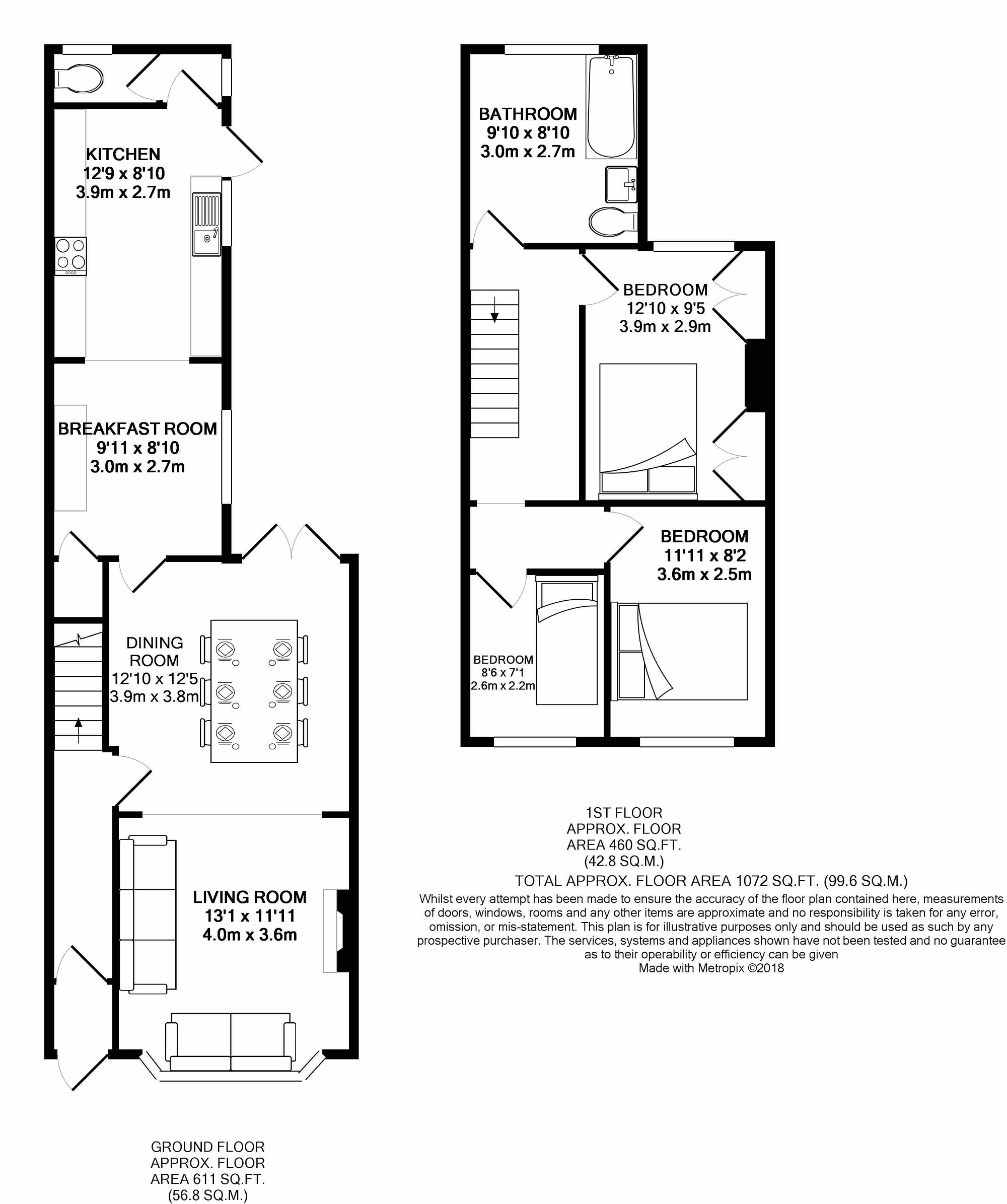 3 Bed Property For Sale In Pickmere Lane Wincham
