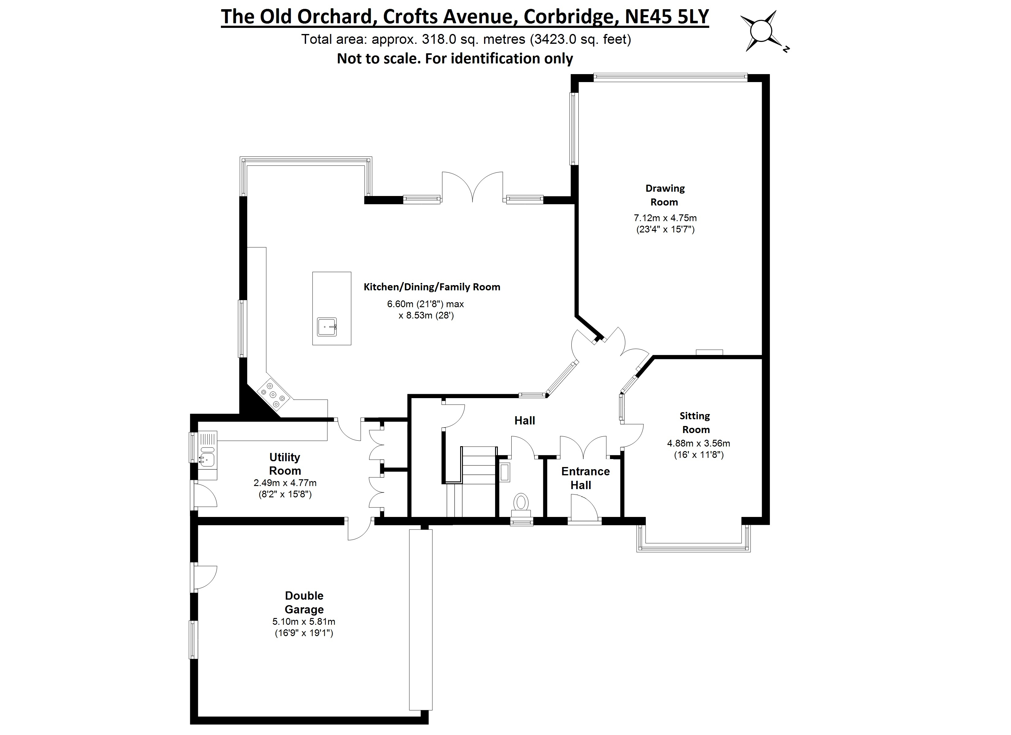 5 Bed Detached House For Sale In The Old Orchard Crofts