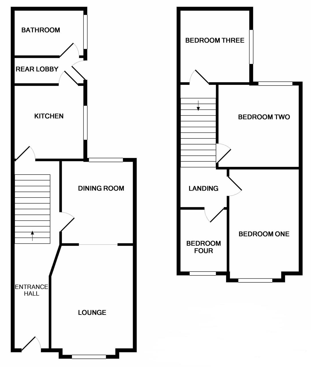 garland road parkeston harwich co12 4 bedroom property for sale