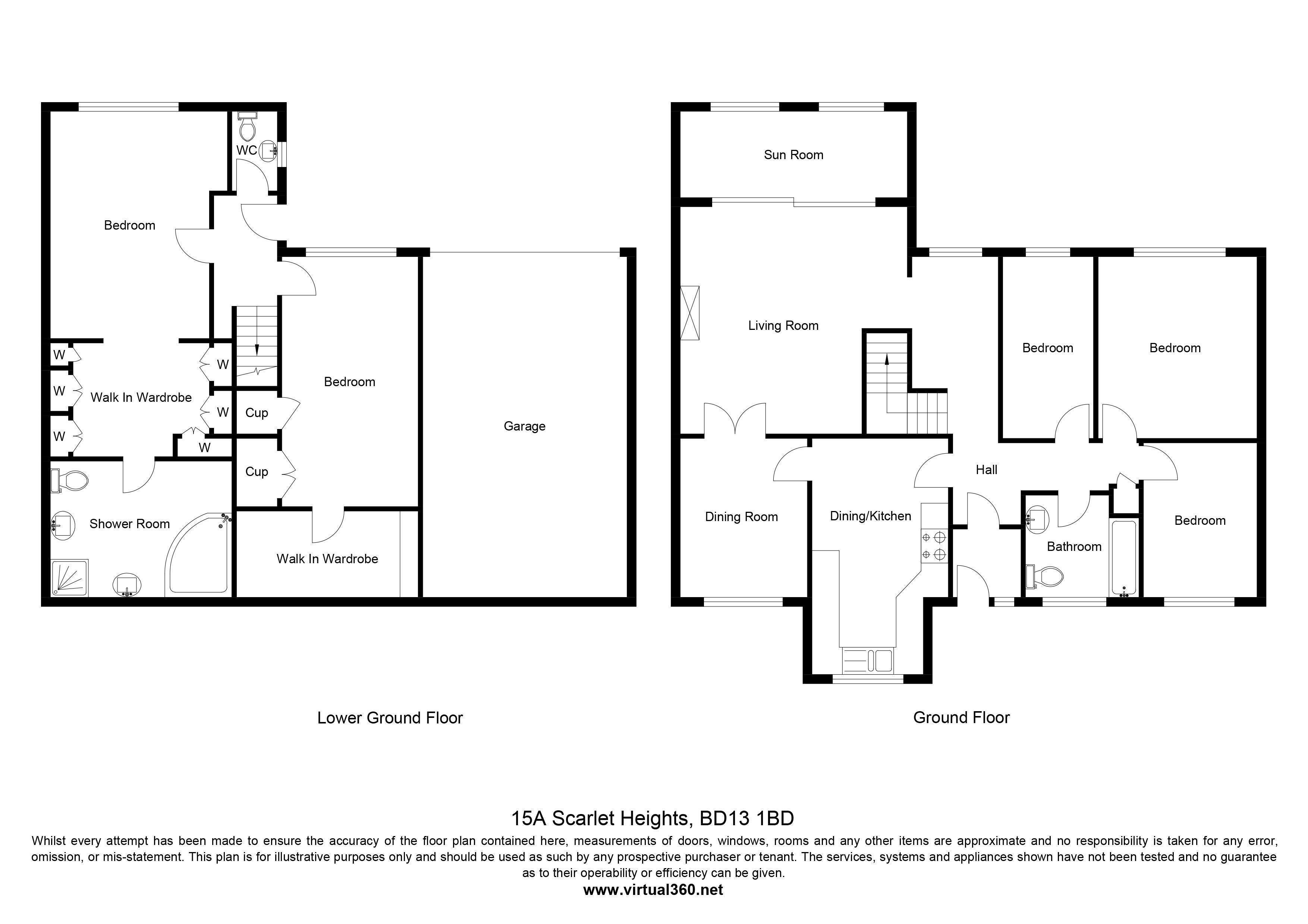 Scarlet Heights Queensbury Bradford Bd13 5 Bedroom