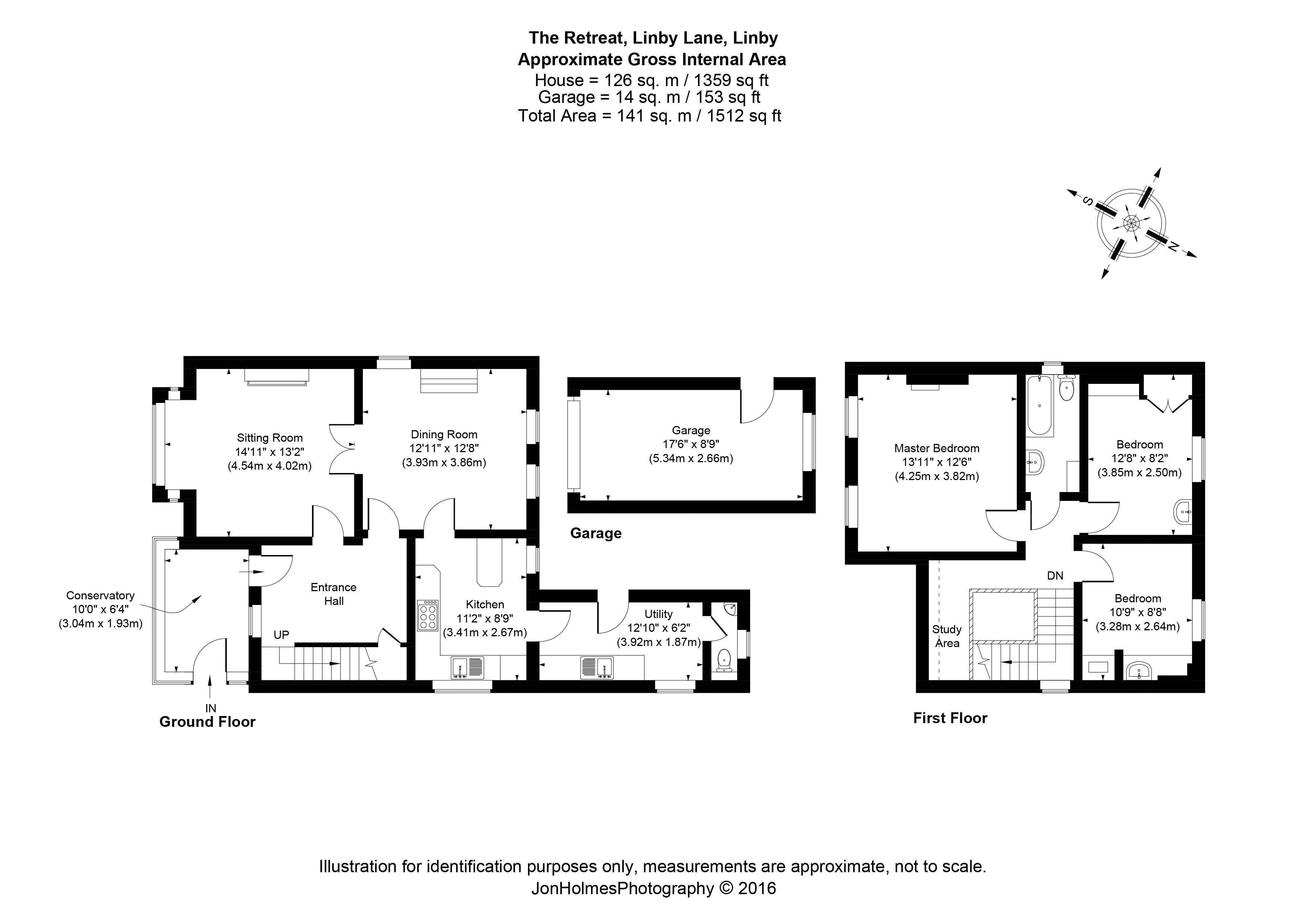 Linby Lane Linby Nottingham Ng15 3 Bedroom Detached