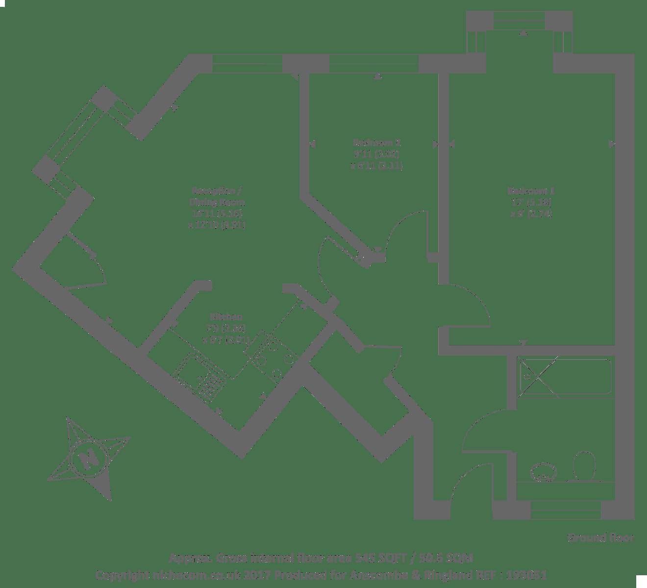 Gate Lodge Harrow Weald Ha3 2 Bedroom Flat For Sale