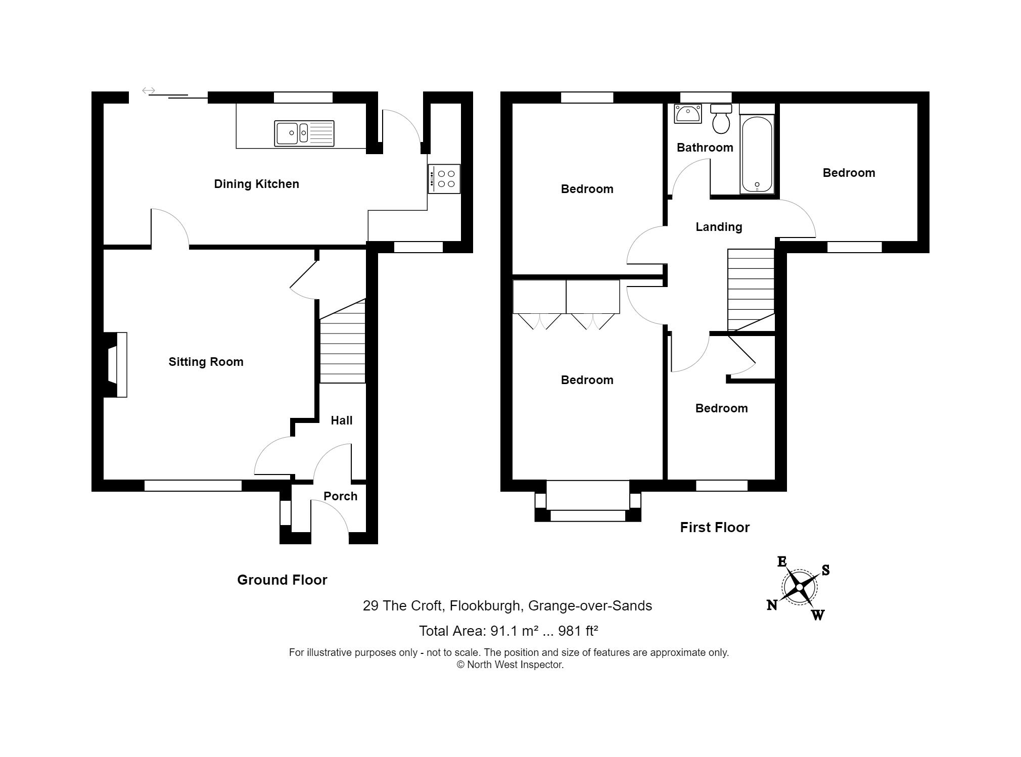 The Croft Flookburgh Grange Over Sands La11 4 Bedroom