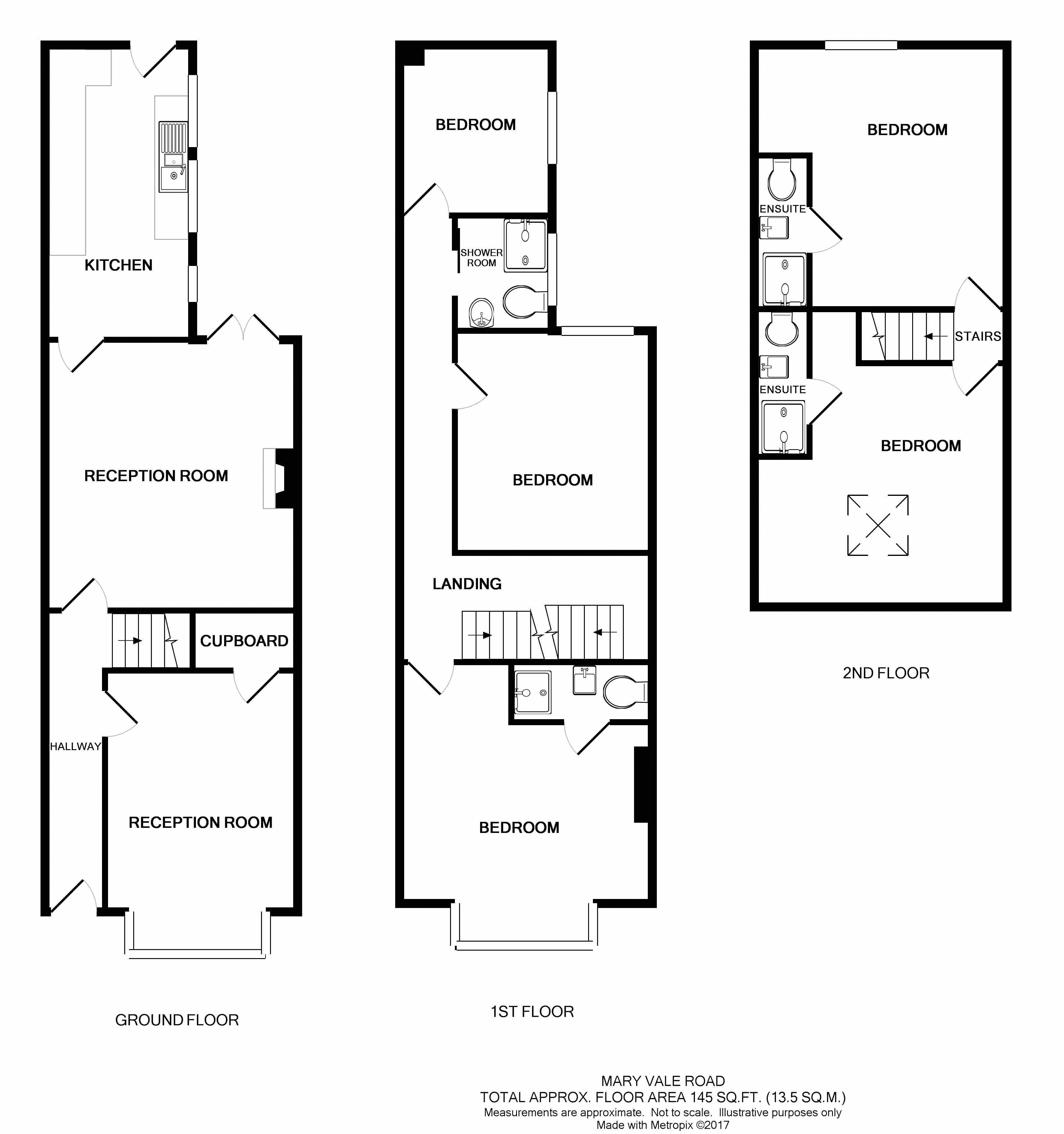 Mary Vale Road Birmingham B30 5 Bedroom Terraced House