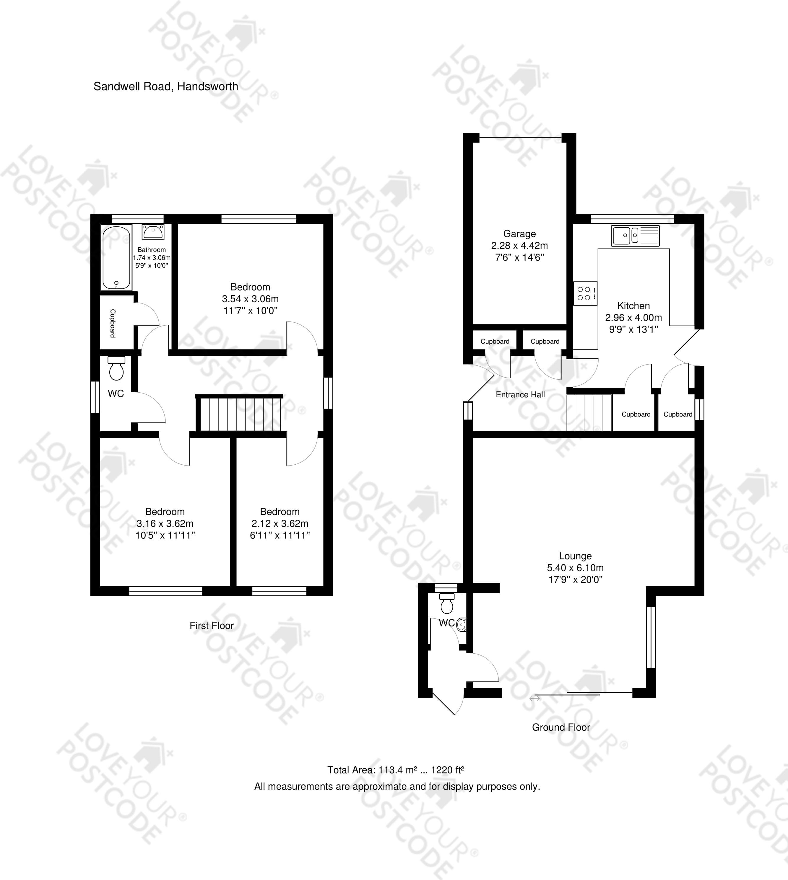 Sandwell Road Handsworth Wood Birmingham B21 3 Bedroom Detached House For Sale