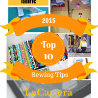 Top 10 Sewing Tips in 2015!