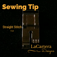 Sewing Tip: What's a Straight Stitch Foot?