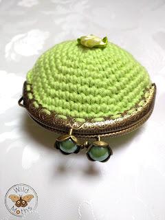 Crochet Little Purse - by Wild Moths - http://wildmoths.blogspot.de/2016/10/little-purse.html