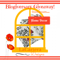 Blogiversary - Roostery Home Décor Shop Giveaway! (Closed)