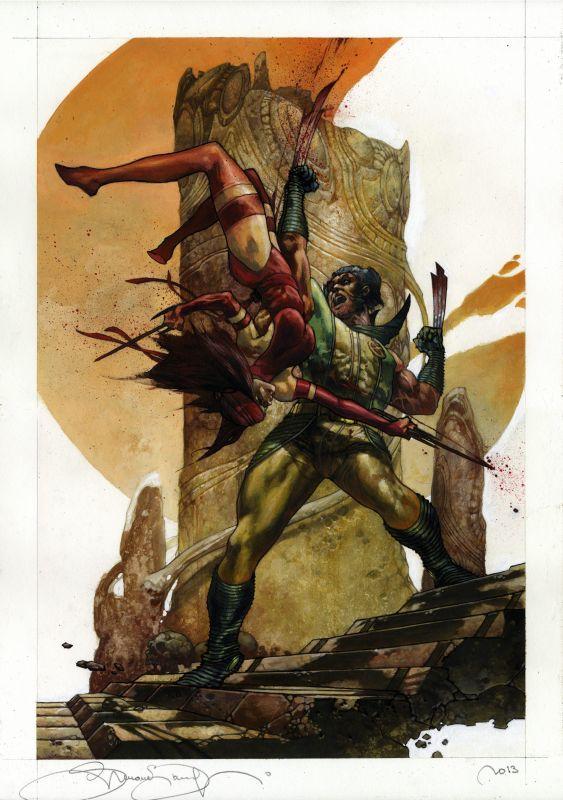 Wolverine e Elektra