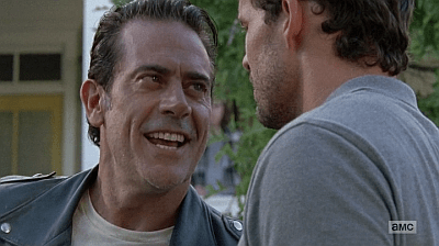 The Walking Dead - Heart Still Beating 7 8 - negan calls spencer out
