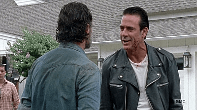 The Walking Dead - Heart Still Beating 7 8 - negan dominates rick
