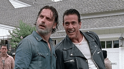The Walking Dead - Heart Still Beating 7 8 - negan talks to rick