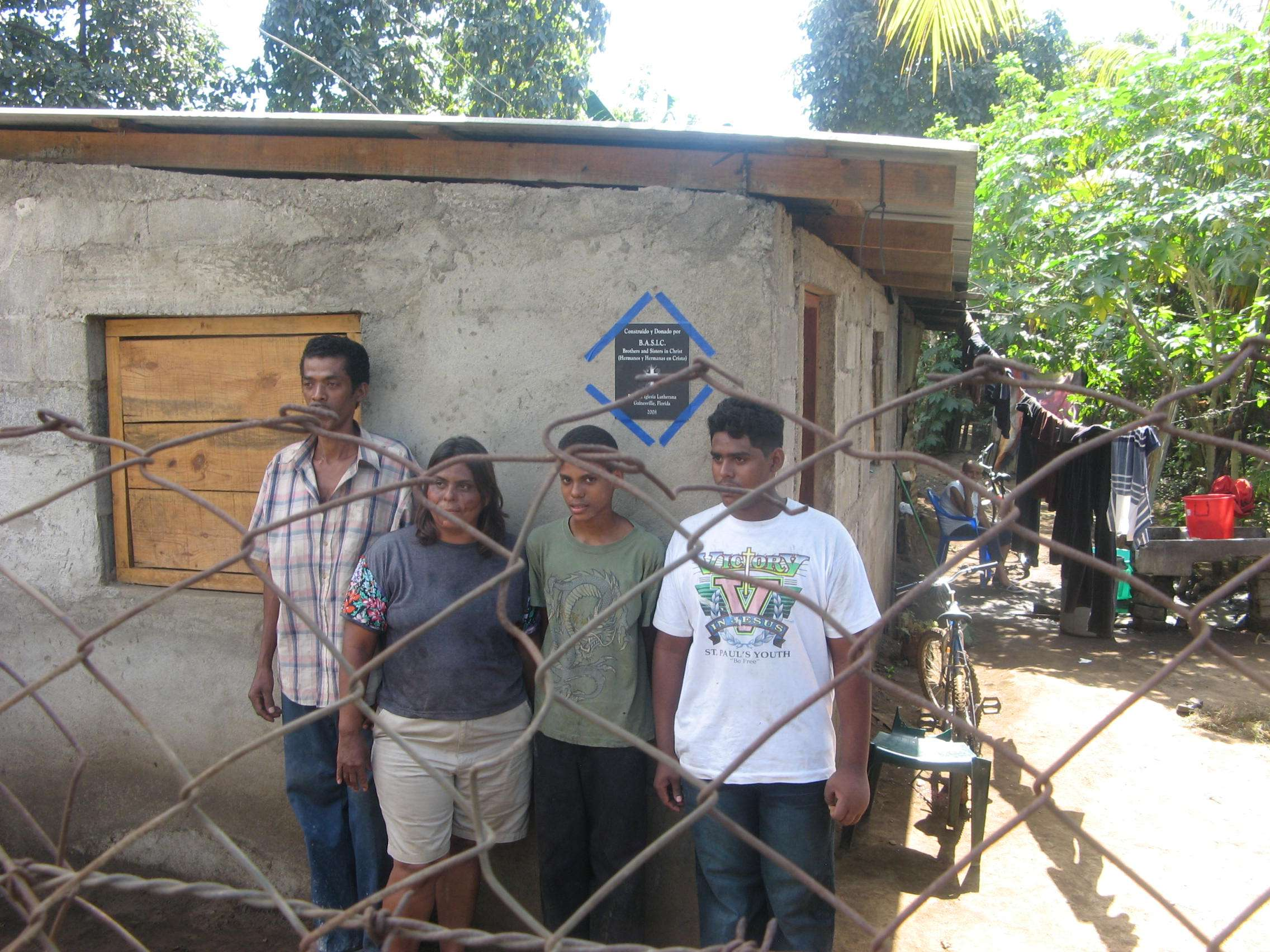 A new homes built for Deaconess Sonia