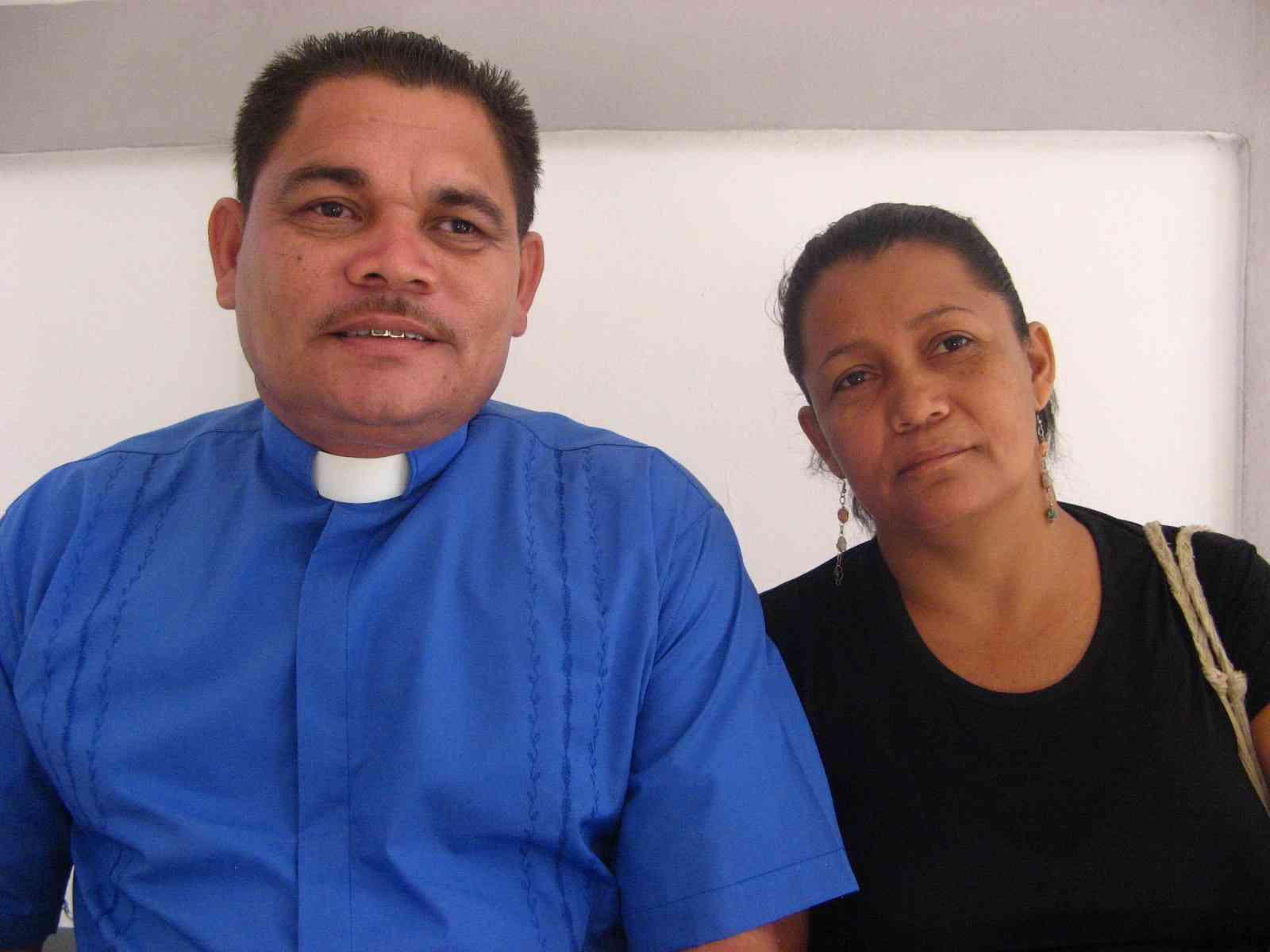 Missionary Rufino and Mariana