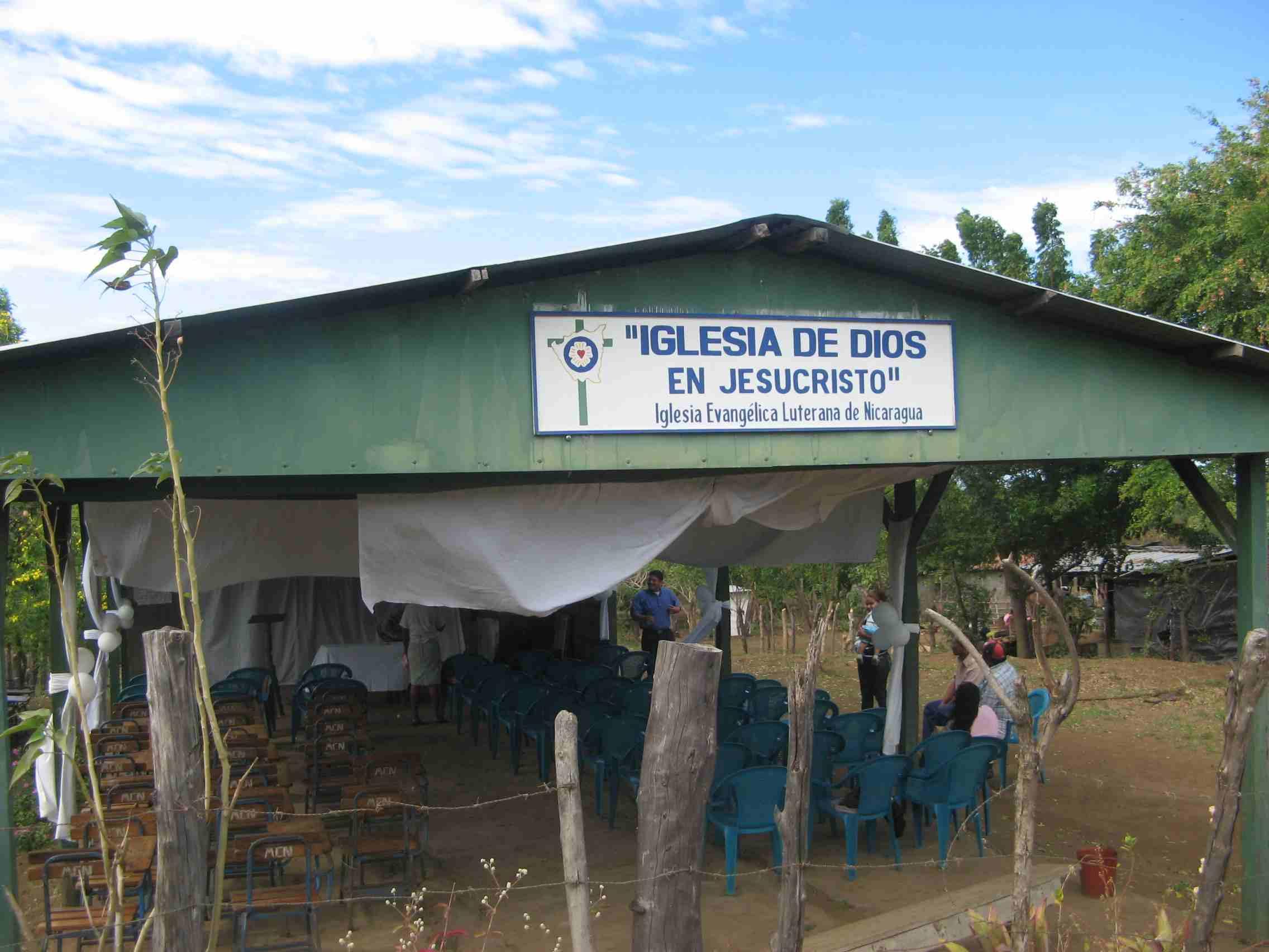 Ranchero, the first worship facility in La Joya
