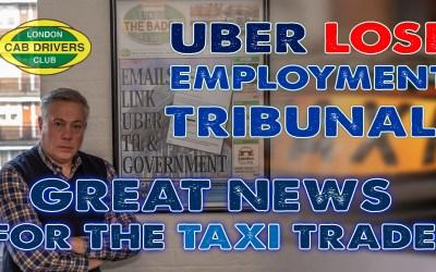 Uber Employment Tribunal