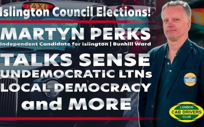 Islington Council Elections | Independent Candidate Martyn Perks Talks About LTNs & More