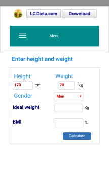 calorie calculate screenshot2
