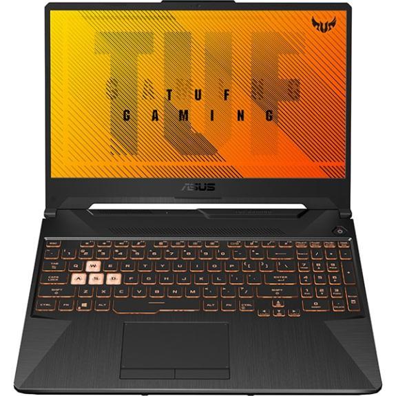 "Laptop Gaming ASUS TUF A15 FX506II-AL019, AMD Ryzen 5 4600H pana la 4.0GHz, 15.6"" Full HD, 8GB, SSD 512GB, NVIDIA GeForce GTX 1650Ti ROG Boost 4GB, Free DOS, negru"