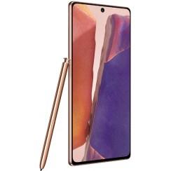 Telefon SAMSUNG Galaxy Note 20, 256GB, 8GB RAM, Dual SIM, Mystic Bronze