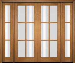 108 inch sliding patio doors double