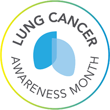 Lung Cancer Awareness Month logo