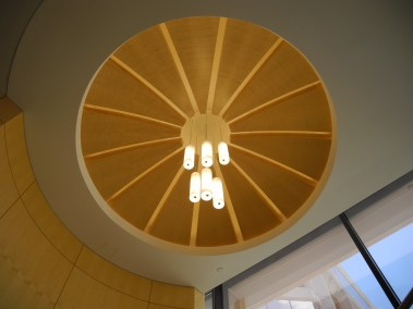 Acoustical Ceiling with hanging lights