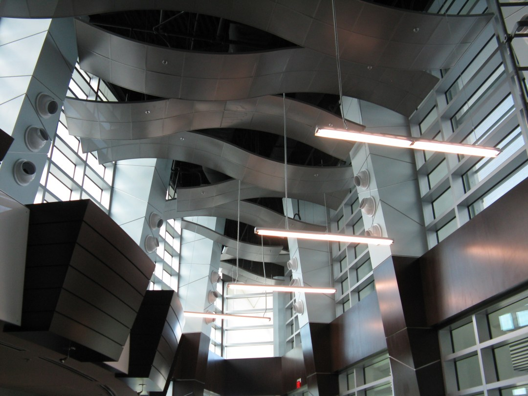 Metal Ceiling Panels from the FAU Engineering Building