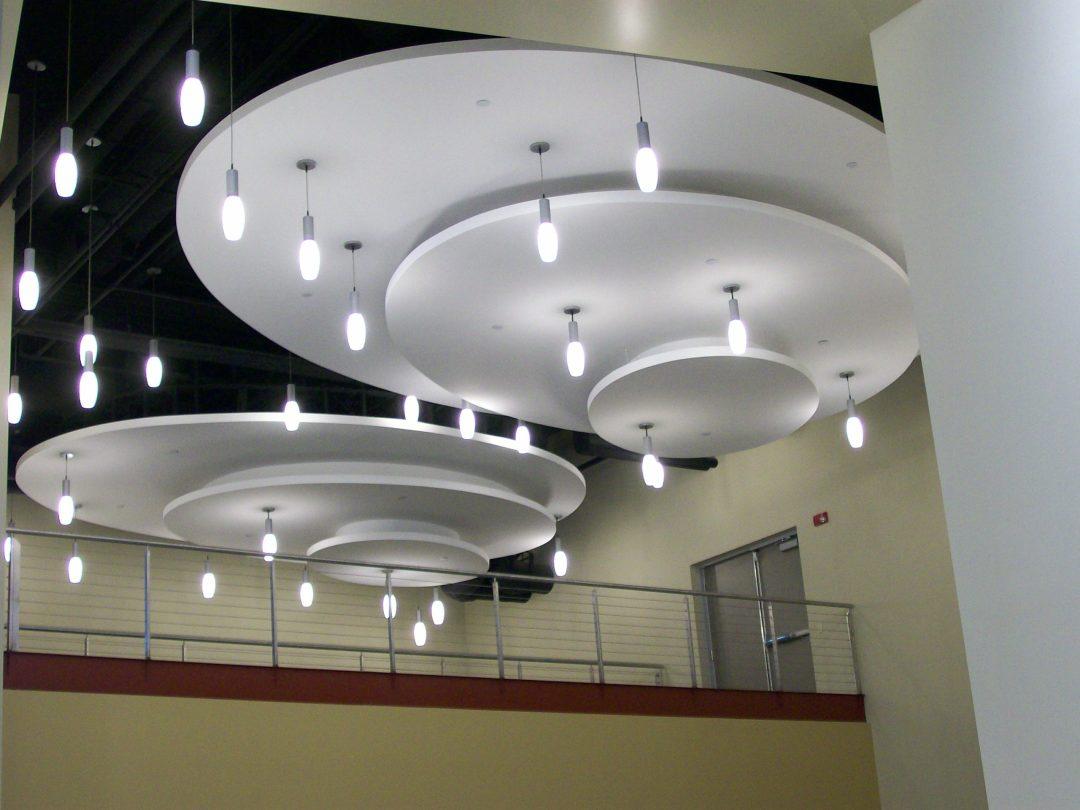 Calvary Christian Academy acoustical Ceiling panels