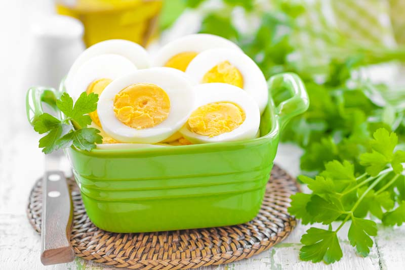 oua fierte, galbenus si albus de ou