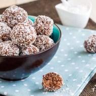 Bilute de ciocolata cu cocos