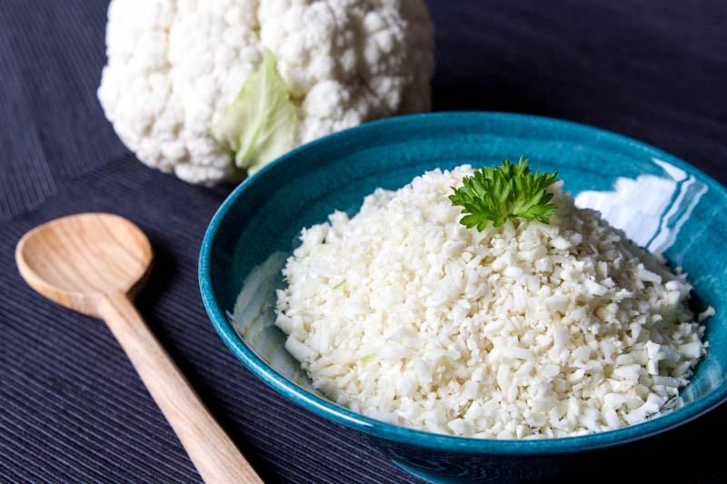 orez din conopida cu unt