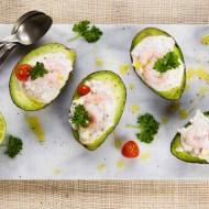 Avocado cu salata cremoasa de creveti