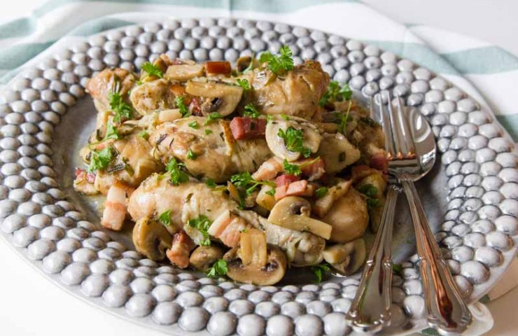 Fricassee de pui