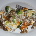 Beef & Broccoli Alfredo! #LCHF