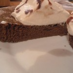 Chocolate Flour-less Microwave Cake! #LCHF