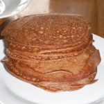 Cocoa Cream Cheese Pancakes! #LCHF @NuNaturals
