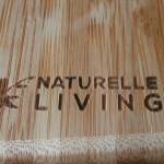 Wonderful Bamboo Cutting Board with Handle! #naturelleliving