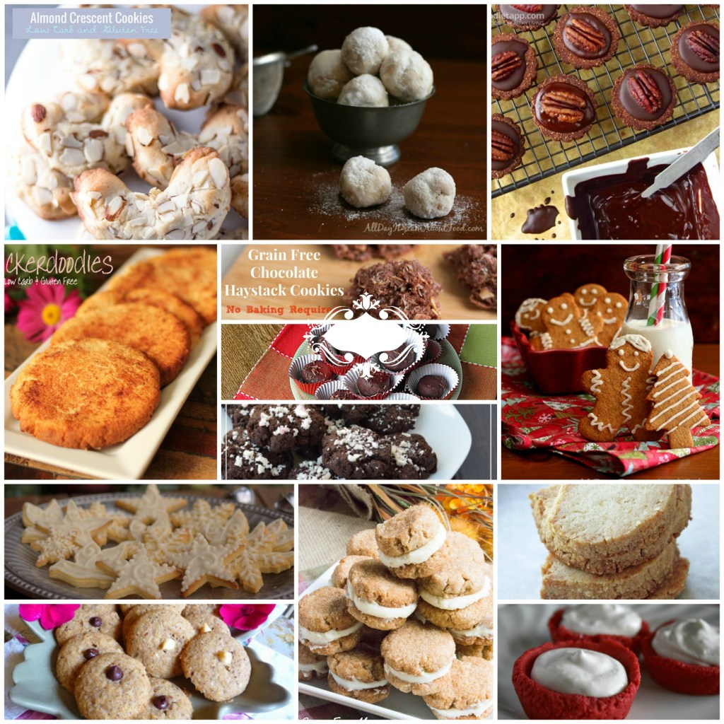 13 Days of #LowCarb Christmas Cookies