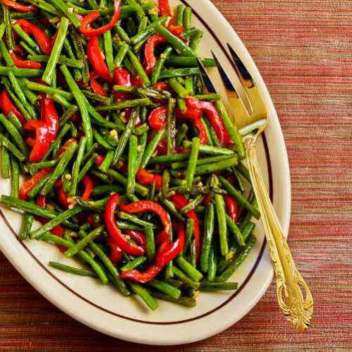 green-beans-red-pepper