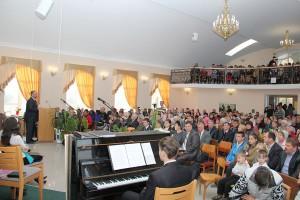 Освячення Дому молитви в м. Лебедин