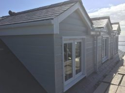 Exterior cladding fitted