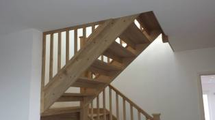 2 oak staircase