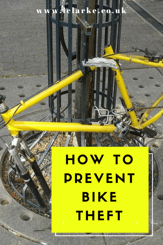HOW TO PREVENT BIKE THEFT | LClarke.co.uk
