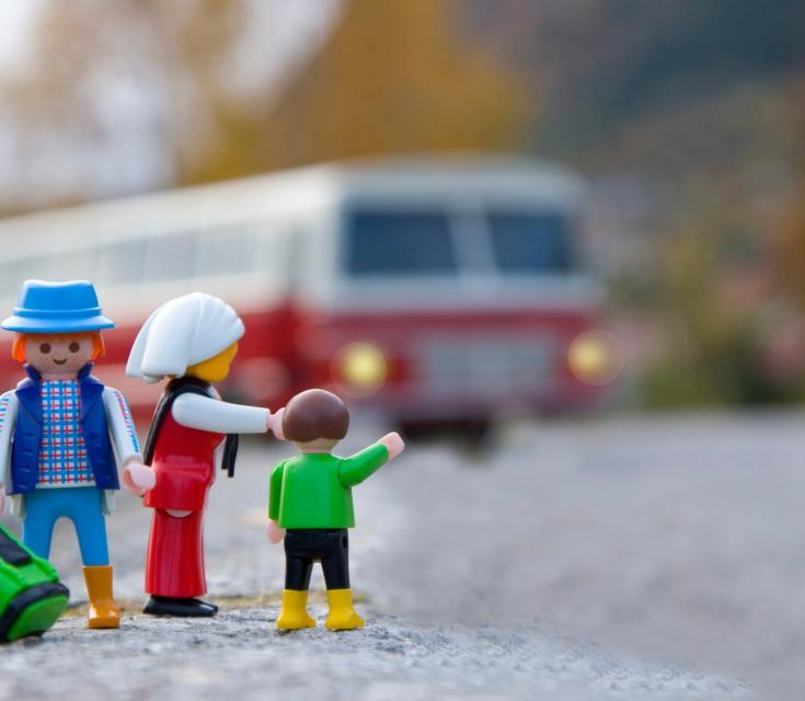 Take the Kids on the Train Without Going Loco