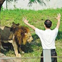 向獅子傳教後 陳中和改信基督