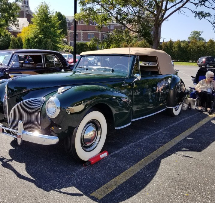 LCOC Show Cars Celebrate Continental Nameplate's 80th Anniversary at LCOC's Eastern National Meet (Part 1)