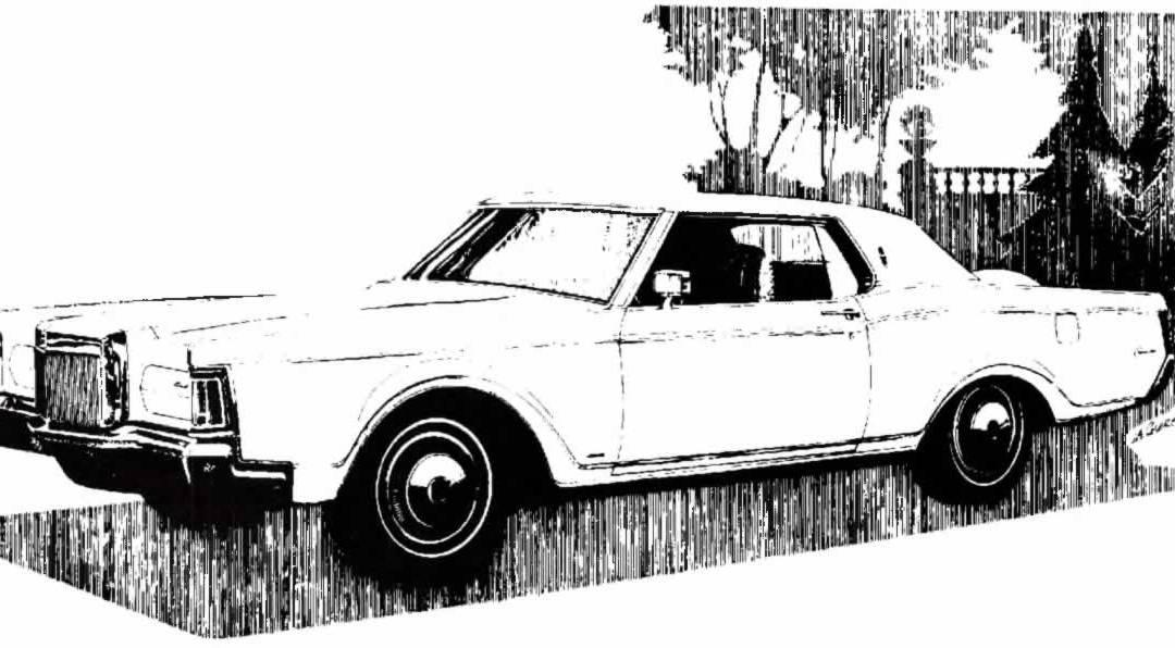 1968 Continental Mark III Press Release